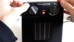 Thermostat radiateur soufflant